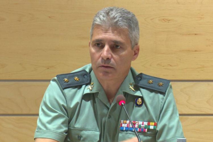 teniente coronel David Blanes González Guardia Civil
