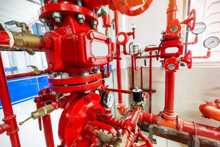 Sistema de protección contra incendios.