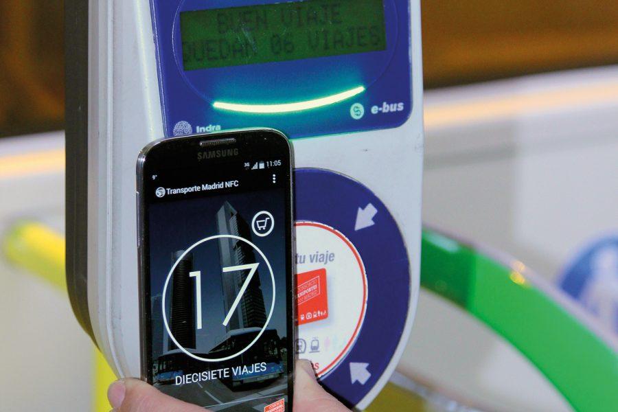 Tecnología NFC. EMT.