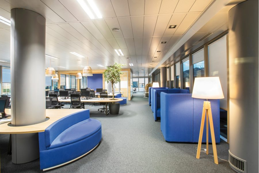Orange flexibilidad espacios tecnología