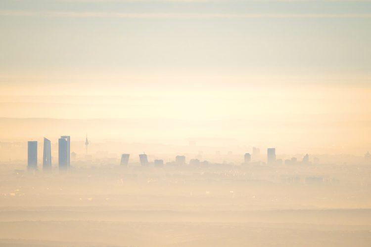 ciudad contaminación
