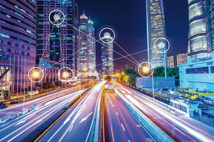 Conectividad conexión ciudad