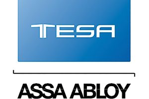 Logo Tesa Assa Abloy.