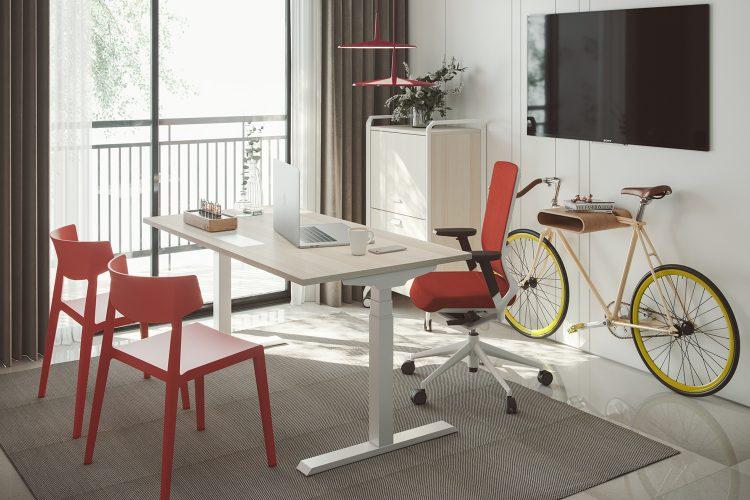 seguridad, ergonomía, trabajo en casa