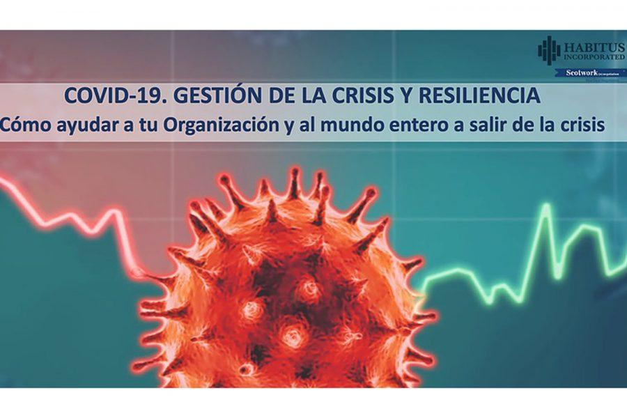"""Webinar """"COVID-19. Gestión de la crisis y resiliencia""""."""