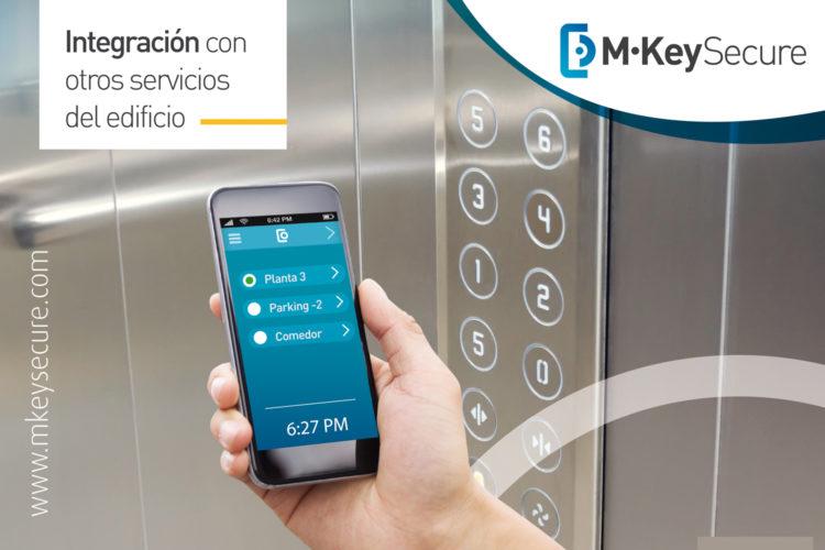 Control remoto de ascensores Alai Secure.