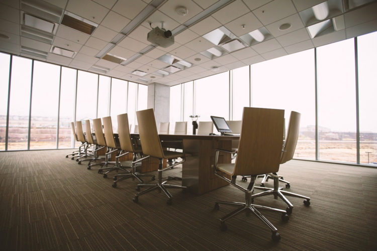 Oficina, sala de reuniones