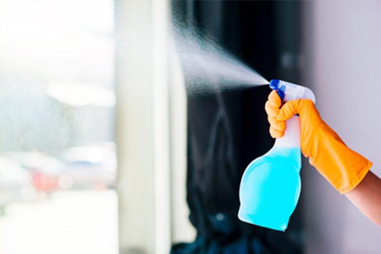 higienización y desinfección