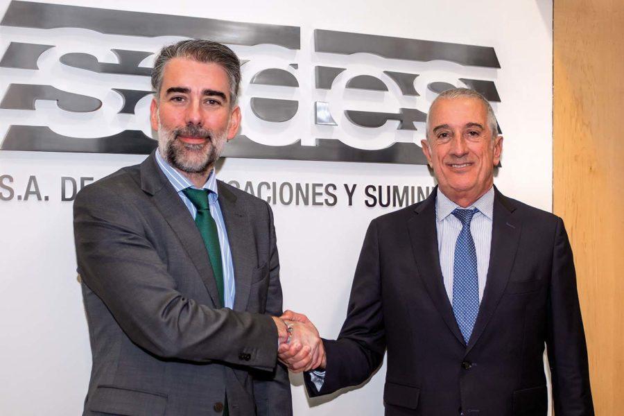Vicente Redondo y Luis Segarra.