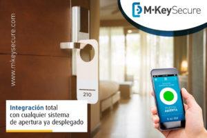 Seguridad en hoteles con M·Key Hoteles de Alai Secure.