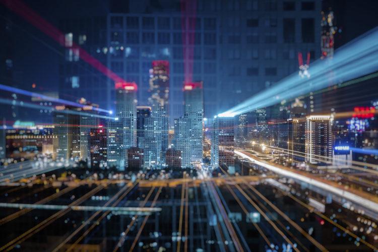 edificios, ciudad, smart city, smart building