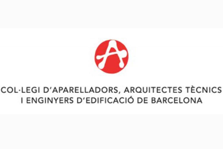 Logo Col·legi d'Aparelladors, Arquitectes Tècnics i Enginyers d'Edificació de Barcelona.