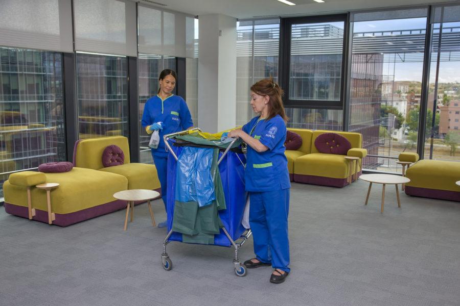 limpieza espacios grupo eulen