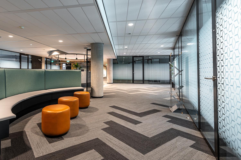 Edificio, oficinas, sala, FM, Facility