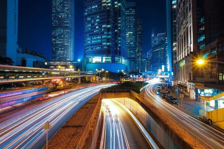 eficiencia energética, ciudad, luces