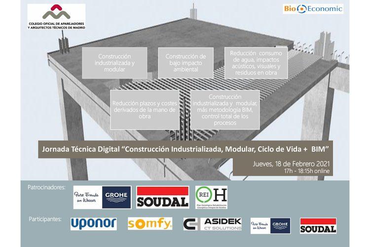"""Webinar COAATM """"Construcción Industrializada + BIM"""""""