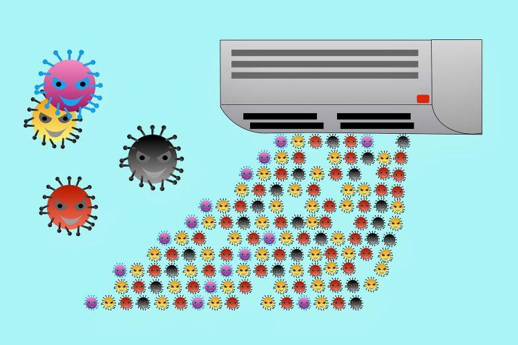climatización covid-19 calidad del aire
