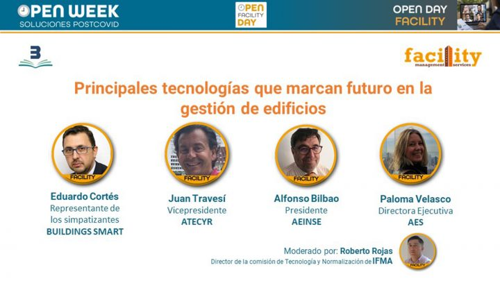 Mesa redonda Facility Open day 2020