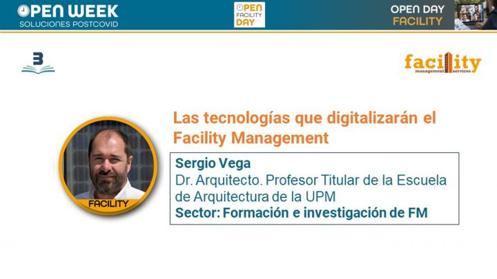 Sergio Vega. Facility Open day 2020