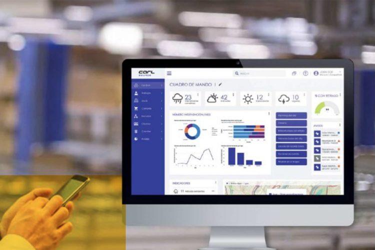 Software de gestión para la optimización de la gestión de equipos, activos y mantenimiento. Carl Berger-Levrault.