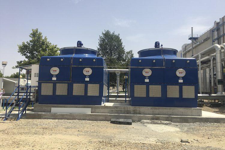 Instalación Grupo de Refrigeración Evaporativa de AEFYT