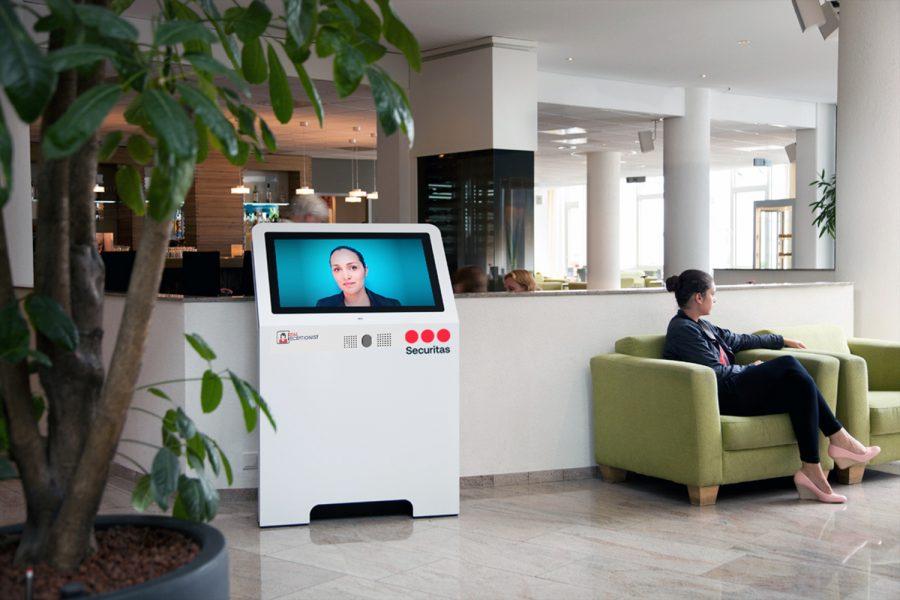 securitas recepción virtual digitalizar