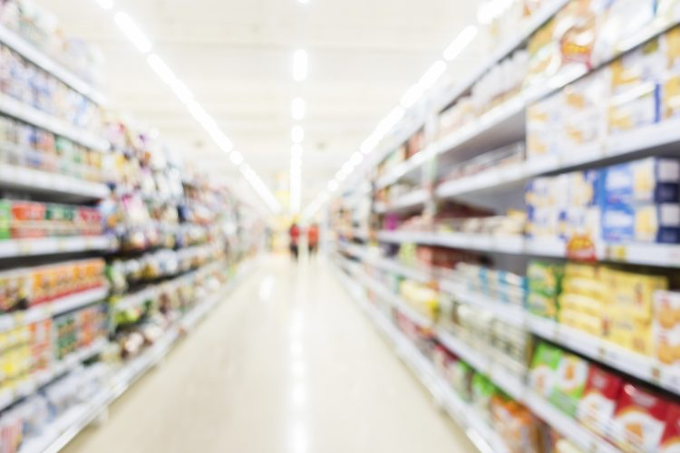 supermercado, centro comercial, retail