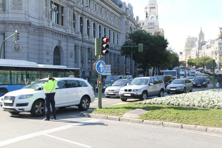 Tráfico, circulación, Madrid