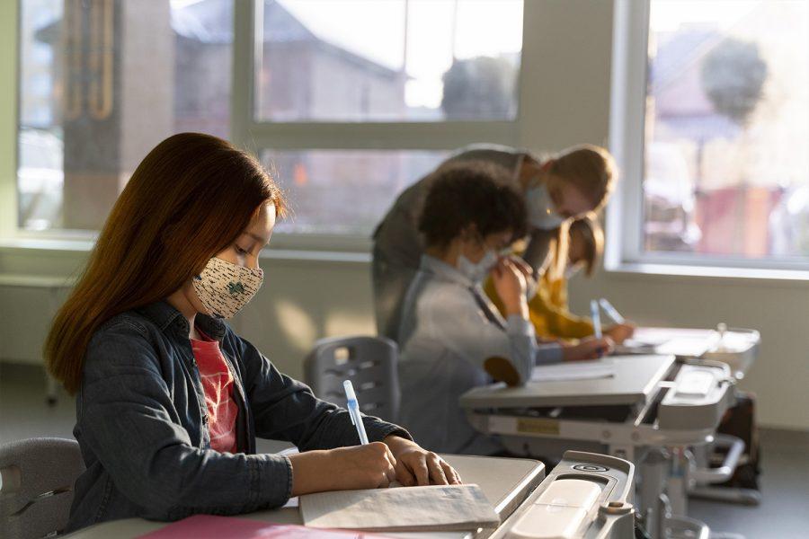 Colegio, ventilación centros educativos, pandemia