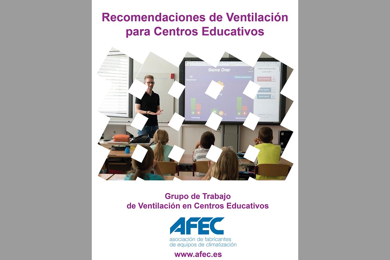 Recomendaciones de ventilación en los centros educativos