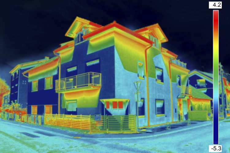 Visión termográfica, calculadora energética CGATE