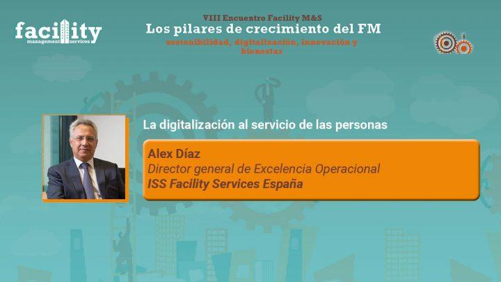Alex Díaz, director general de Excelencia Operacional de ISS Facility Services España.