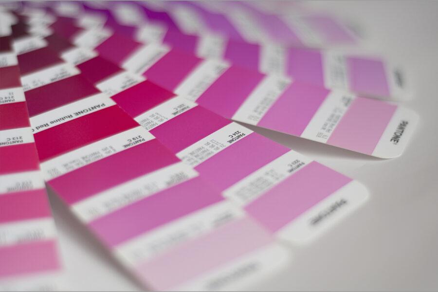 Interiorismo, colores, rosa Pantone