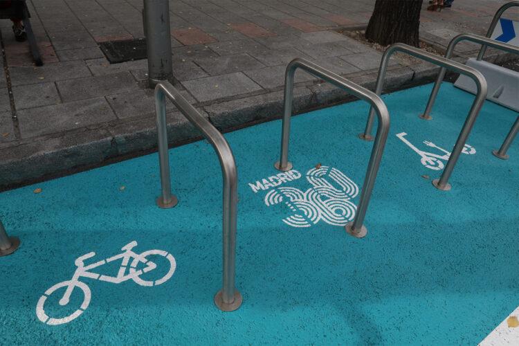 Aparcabicis Madrid bicicletas