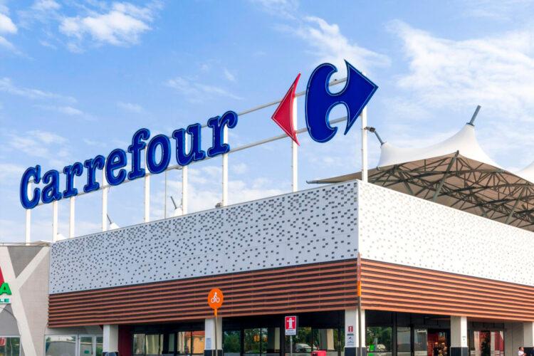 Carrefour, centro comercial, distribución