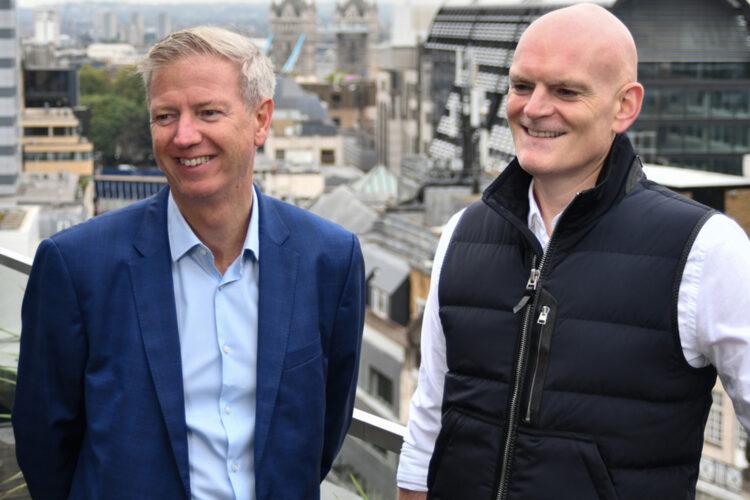 Paul Cossell y Matt Blowers, de ISG