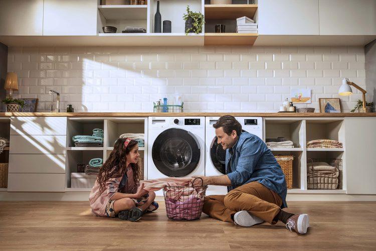 Beko 2020 Laundry SteamCure limpiar la casa