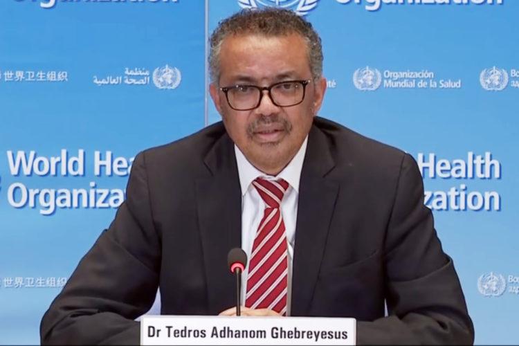 El etíope Tedros Adhanom Ghebreyesus, director de la Organización Mundial de la Salud (OMS)