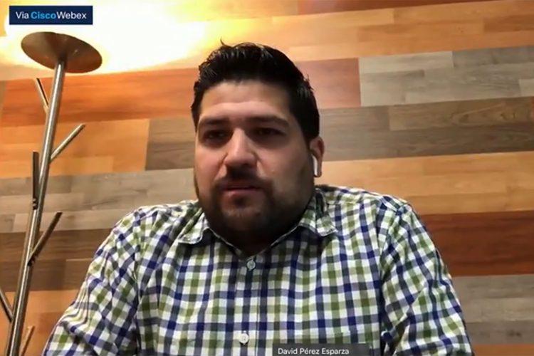 David Pérez Esparza Centro Nacional de Información México